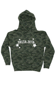 Delta Zeta Haven't you heard? Camo is in - Hoodie