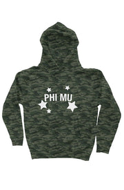 Phi Mu Haven't you heard? Camo is in - Hoodie