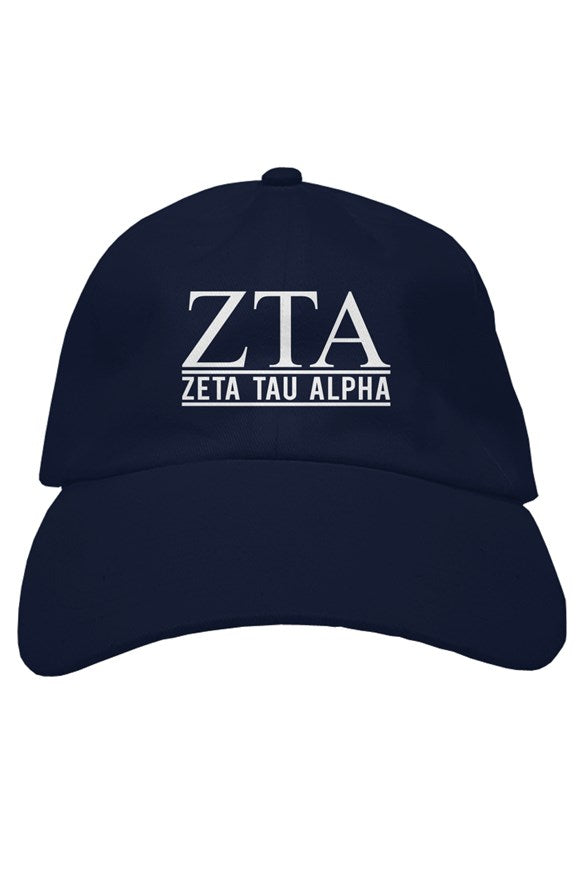 Zeta Tau Alpha the house hat