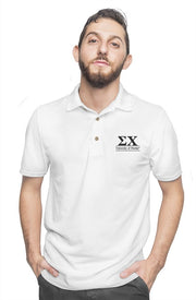 University of Florida - Sigma Chi - Chapter House White Polo