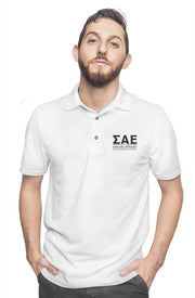 University of Florida - Sigma Alpha Epsilon - Chapter House White Polo
