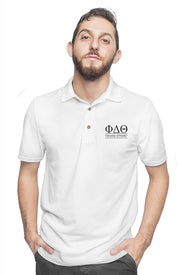 University of Florida - Phi Delta Theta - Chapter House White Polo