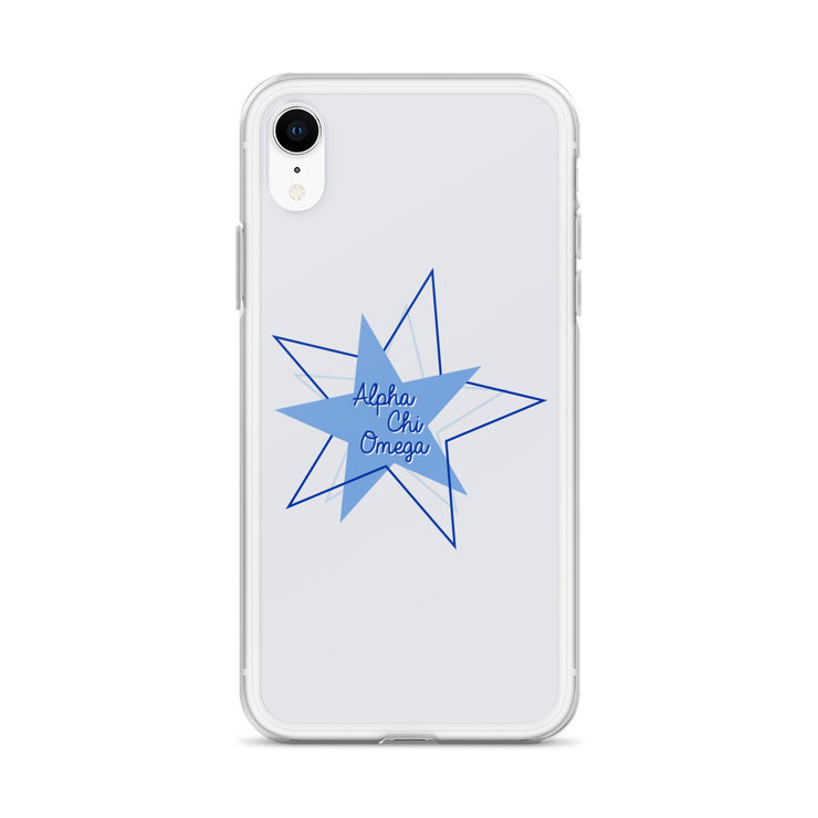 Alpha Chi Omega Phone Case - Bring on the Blue Stars