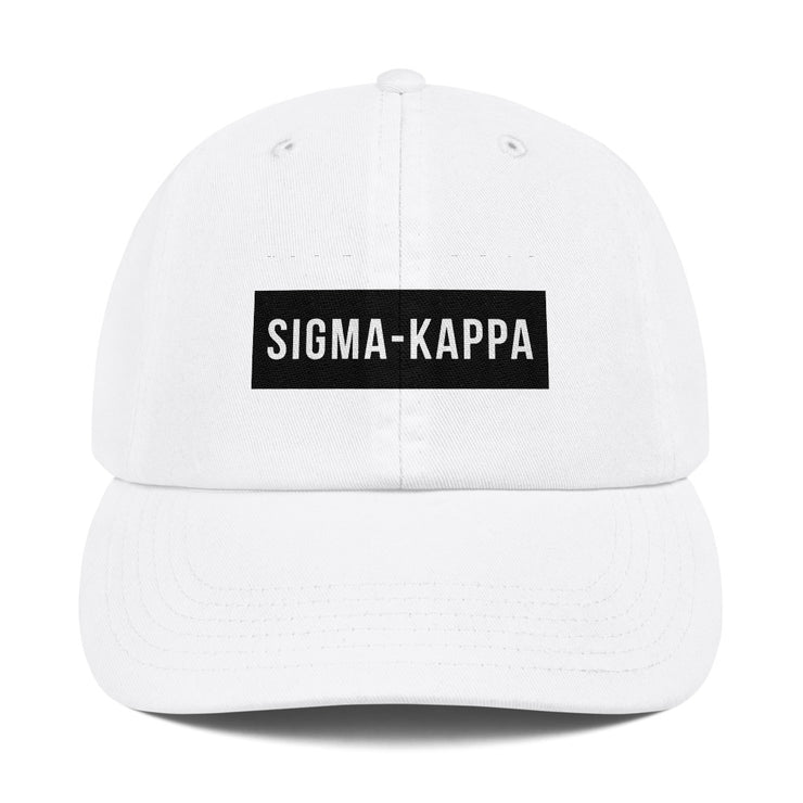 Sigma Kappa Blocked Hat