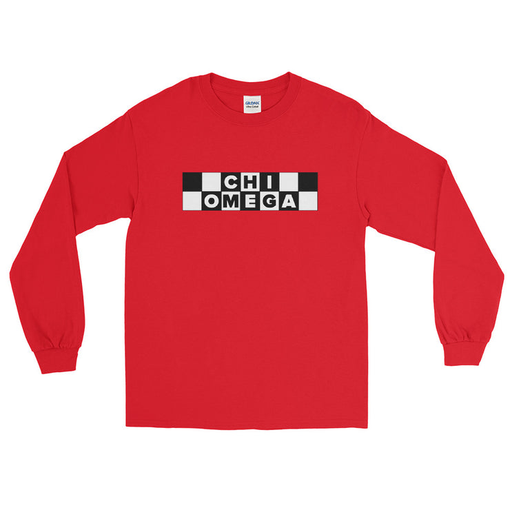 Chi Omega Cartoon Network Long Sleeve T-Shirt