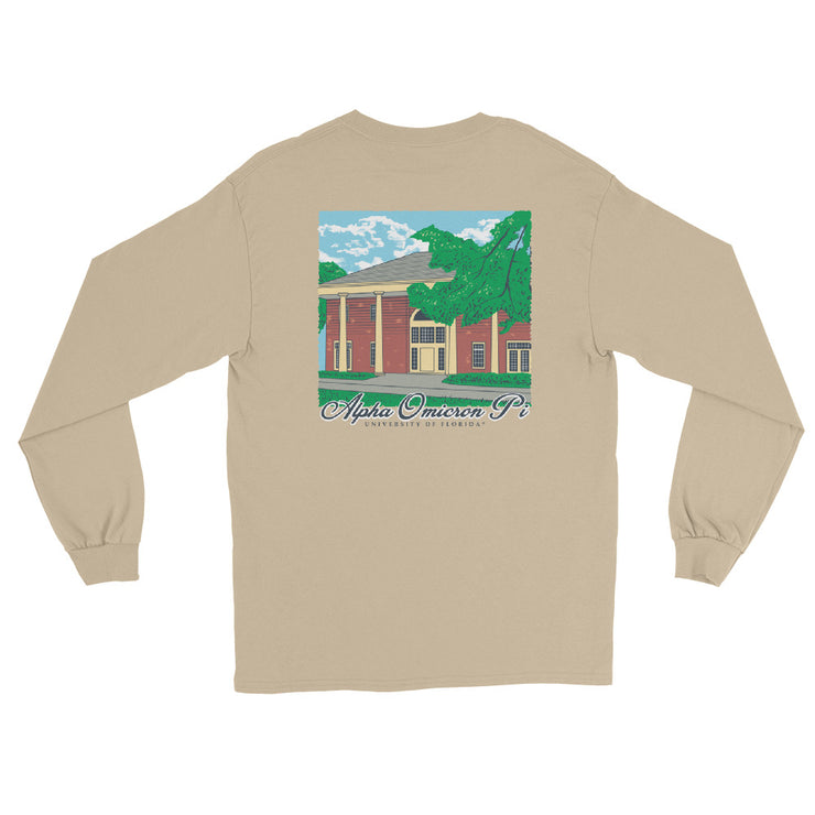 University of Florida - Alpha Omicron Pi - Chapter House Long Sleeve