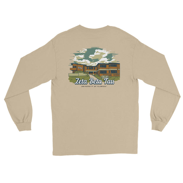 University of Florida - Zeta Beta Tau - Chapter House Long Sleeve