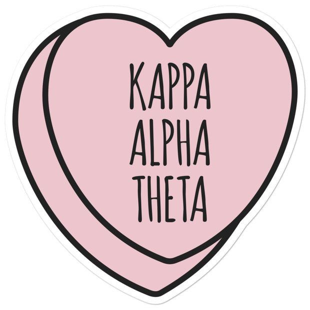 Kappa Alpha Theta Sweetheart - Sticker