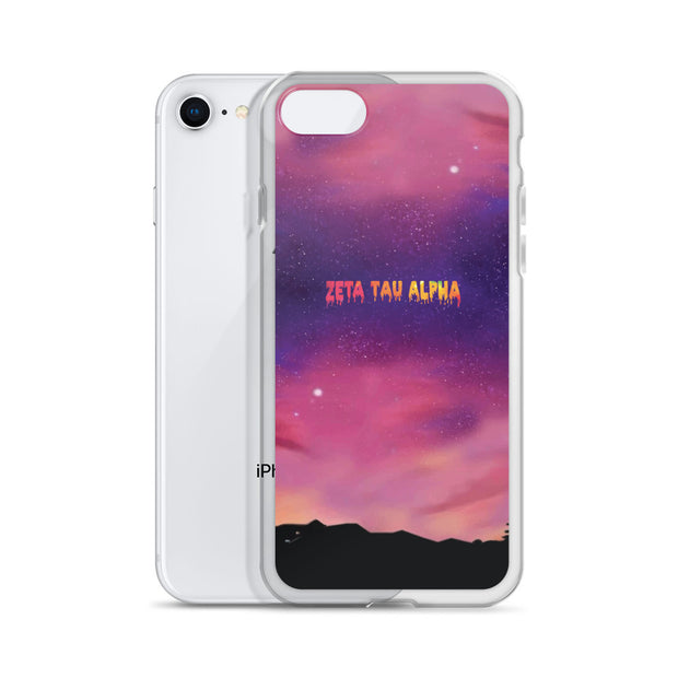 Zeta Tau Alpha CHANCE iPhone Case