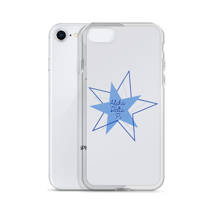 Alpha Delta Pi Phone Case - Bring on the Blue Stars