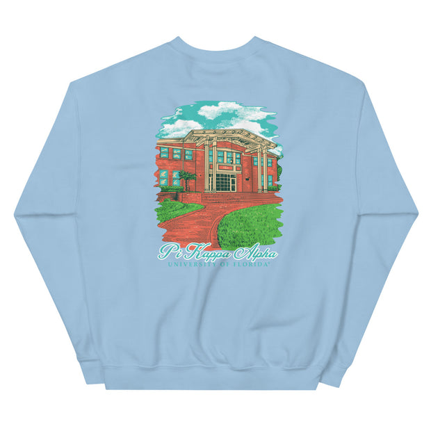 University of Florida - Pi Kappa Alpha - Chapter House Sweatshirt