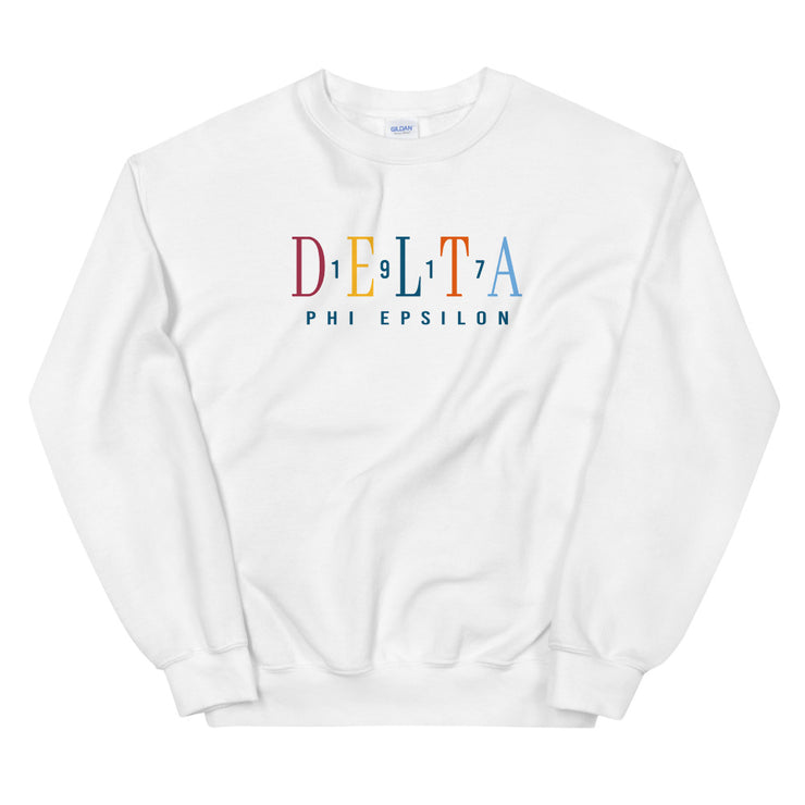 Tommy Sweatshirt / White