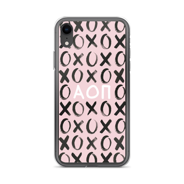 Alpha Omicron Pi Phone Case - XOXO