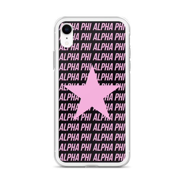 Alpha Phi Phone Case - Center of Attention Star