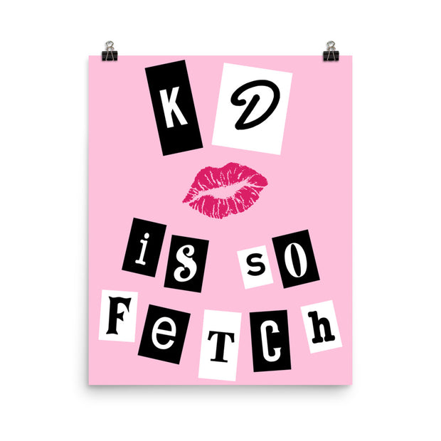 Kappa Delta Poster- So Fetch
