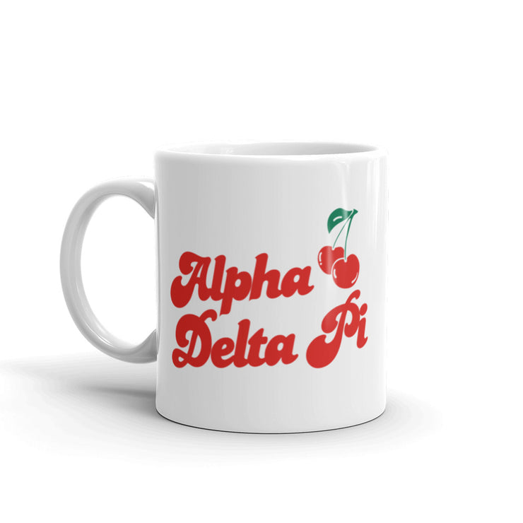 Alpha Delta Pi Coffee Mug - Cherry on Top
