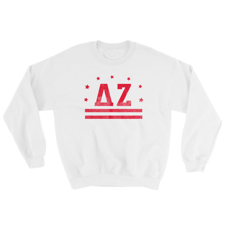 Delta Zeta Stars & Stripes Sweatshirt