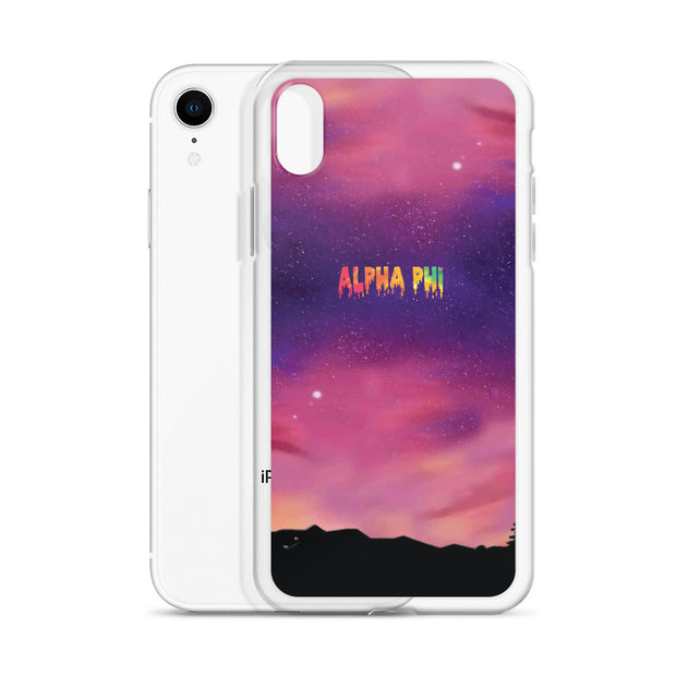 Alpha Phi CHANCE iPhone Case