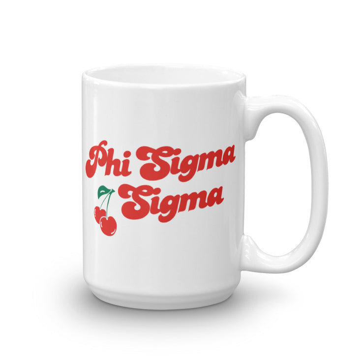 Phi Sigma Sigma Coffee Mug - Cherry on Top