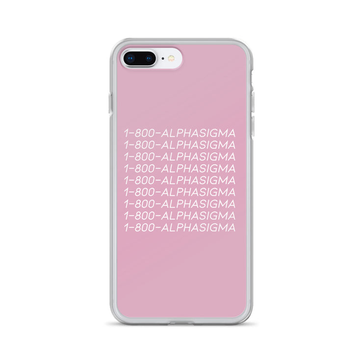 Alpha Sigma Alpha Phone Case - Hotline Bling