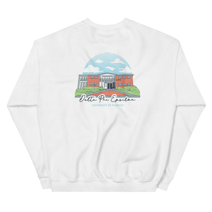 University of Florida - Delta Phi Epsilon - Chapter House Sweatshirt