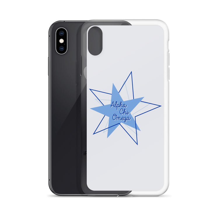 Alpha Chi Omega Phone Case - Center of Attention Star