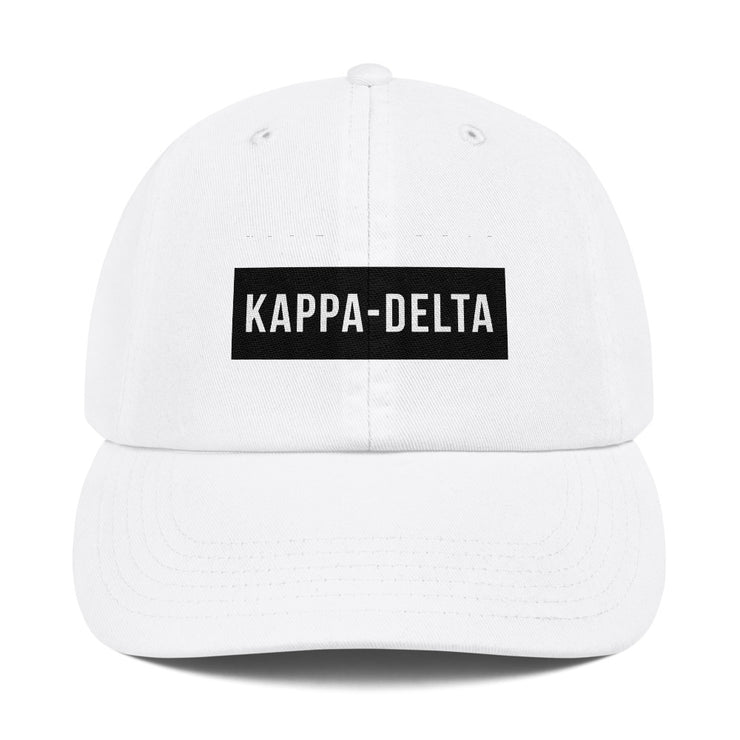 Kappa Delta blocked Hat