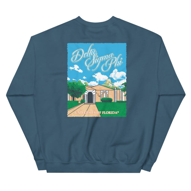 University of Florida - Delta Sigma Phi - Chapter House Sweatshirt