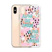 Alpha Chi Omega WILD iPhone Case