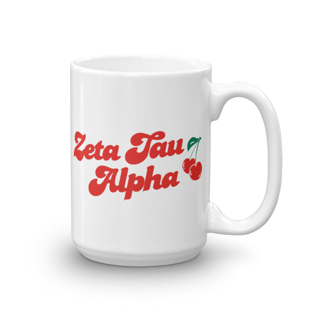 Zeta Tau Alpha Coffee Mug - Cherry on Top