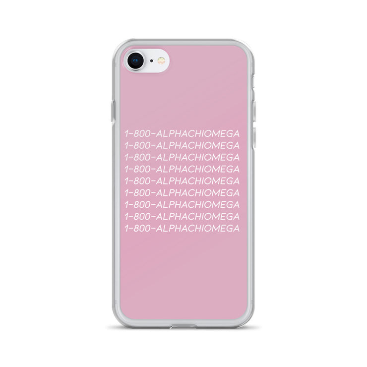 Alpha Chi Omega Phone Case - Hotline Bling