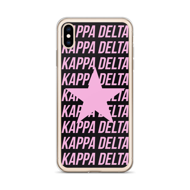 Kappa Delta Phone Case - Center of Attention Star