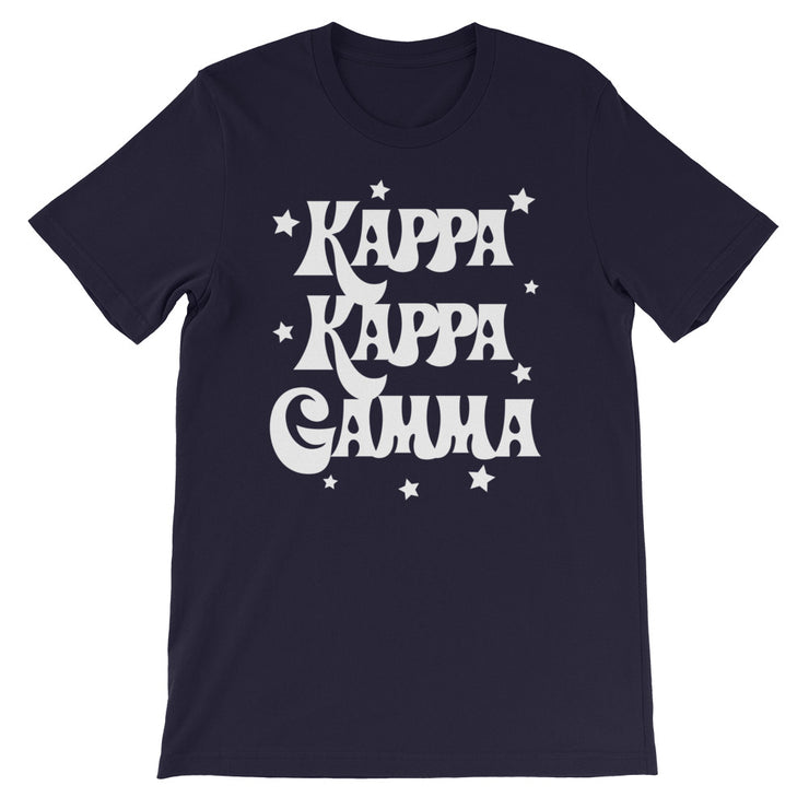 Kappa Kappa Gamma Starred Up Unisex T-Shirt