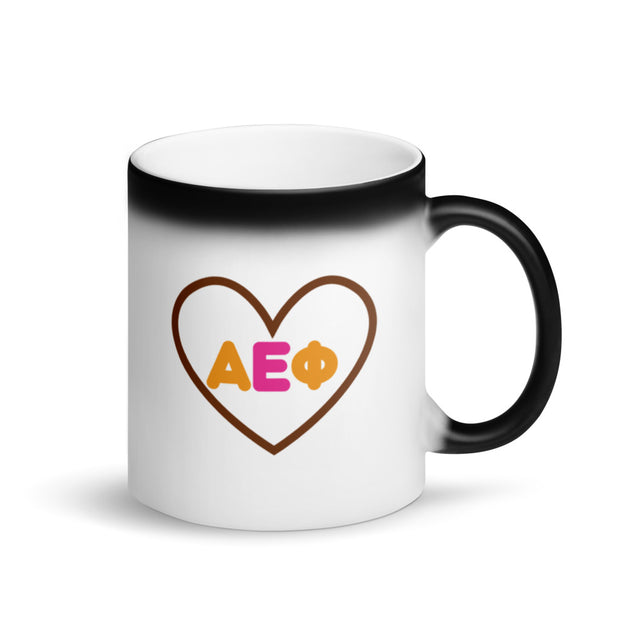 Alpha Epsilon Phi Magic Coffee Mug - Coffee Enthusiast