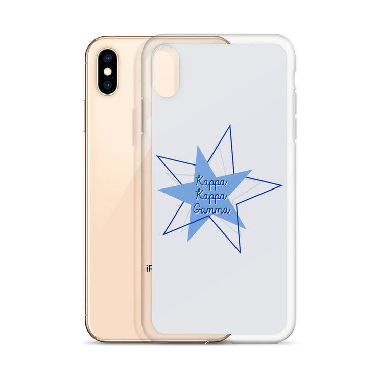Kappa Kappa Gamma Phone Case - Bring on the Blue Stars