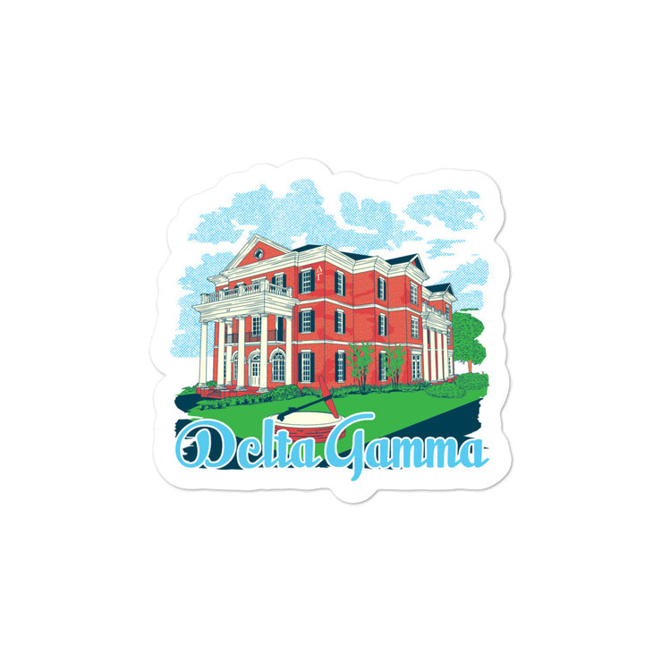 University of Florida - Delta Gamma - Chapter House Sticker