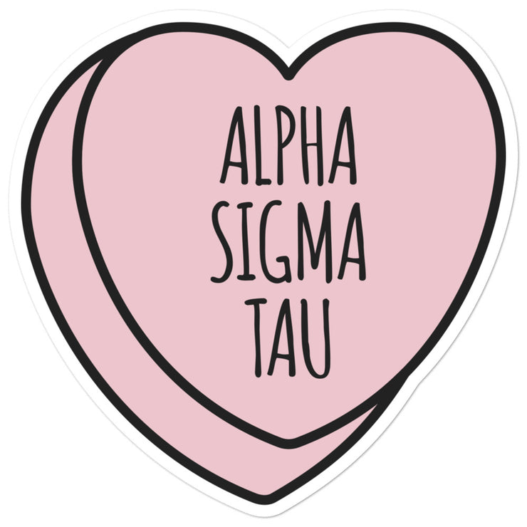 Alpha Sigma Tau Sweetheart - Sticker