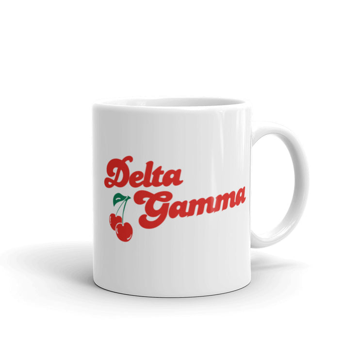Delta Gamma Coffee Mug - Cherry on Top