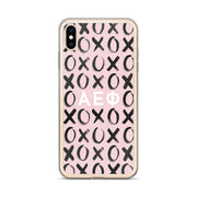 Alpha Epsilon Phi Phone Case - XOXO