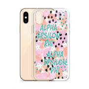Alpha Epsilon Phi WILD iPhone Case