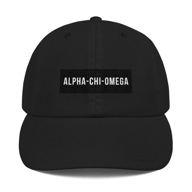 Alpha Chi Omega Blocked Hat