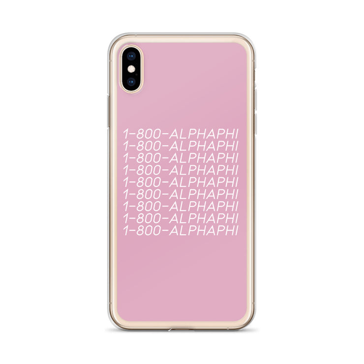 Alpha Phi Phone Case - Hotline Bling