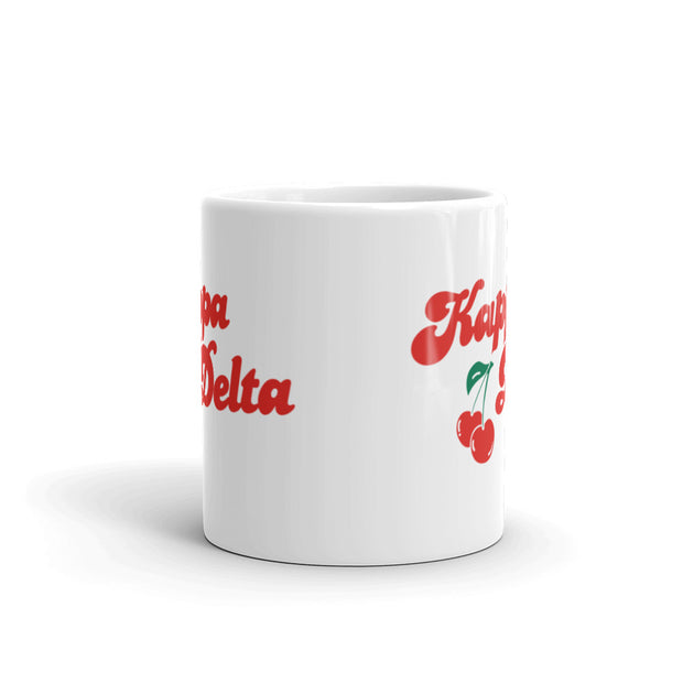Kappa Delta Coffee Mug - Cherry on Top