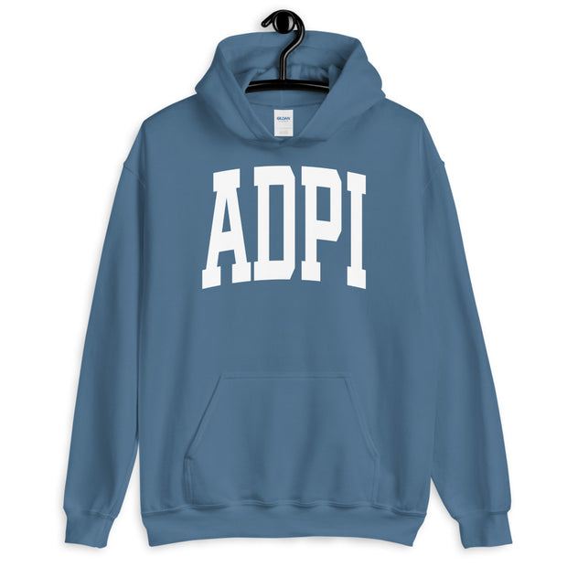 Collegiate Chapter Hoodie - Indigo Blue