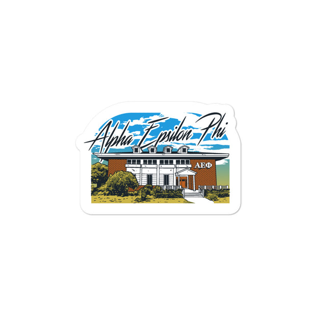 University of Florida - Alpha Epsilon Phi - Chapter House Sticker