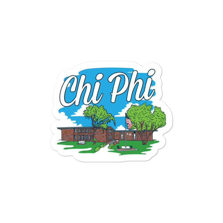 University of Florida - Chi Phi - Chapter House Sticker