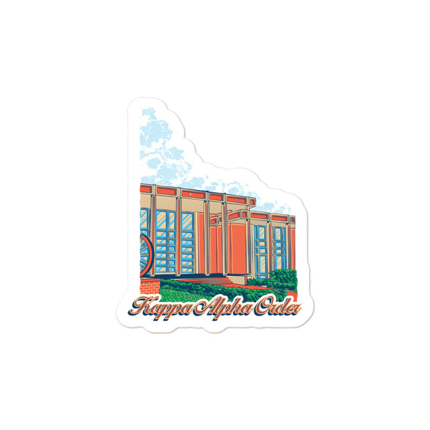 University of Florida - Kappa Alpha Order - Chapter House Sticker