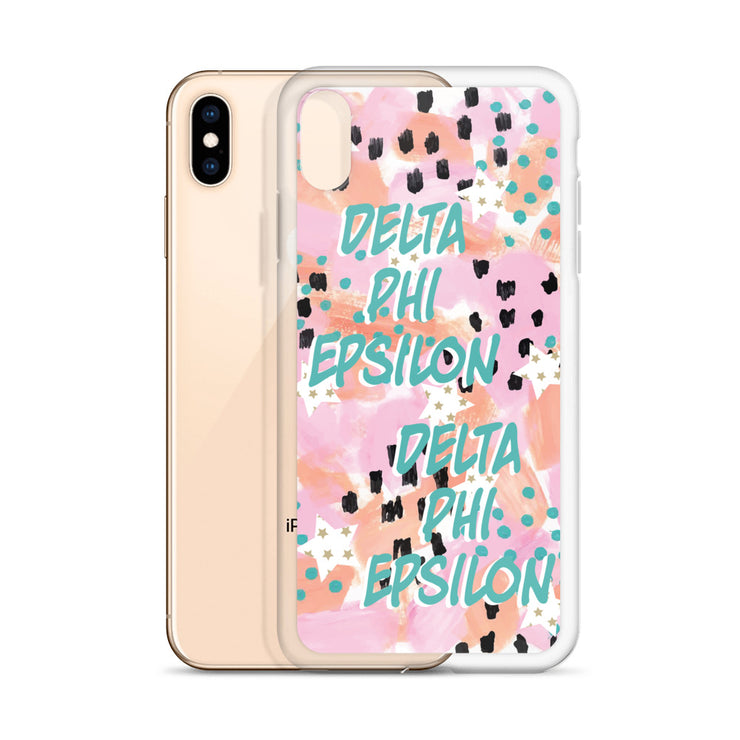 Delta Phi Epsilon WILD iPhone Case