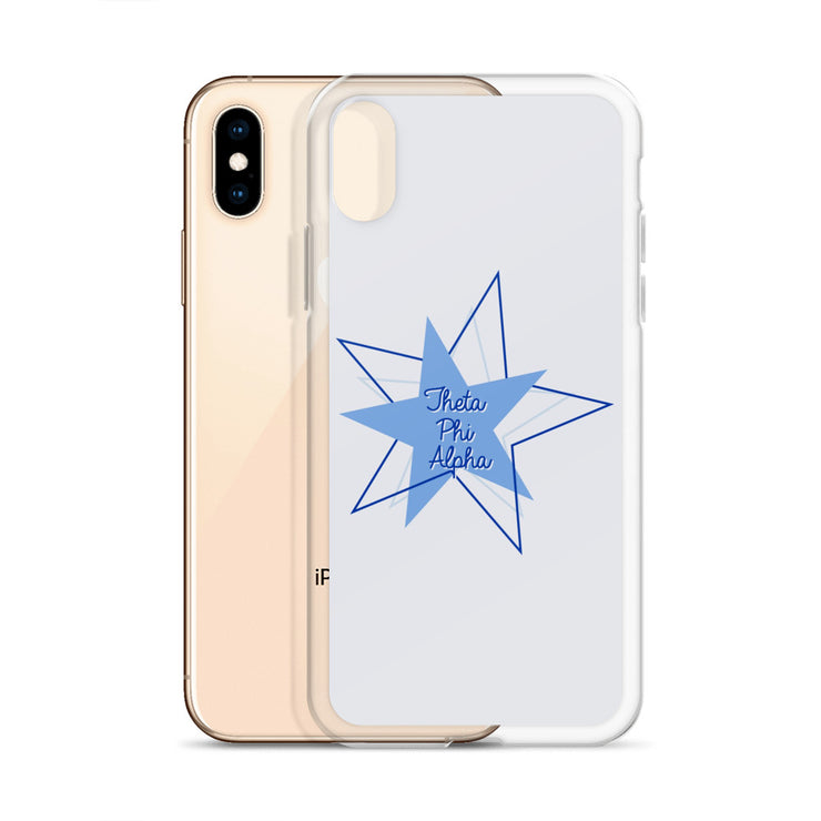 Theta Phi Alpha Phone Case - Bring on the Blue Stars