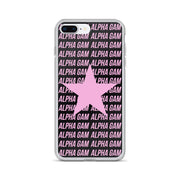 Alpha Gamma Delta Phone Case - Center of Attention Star